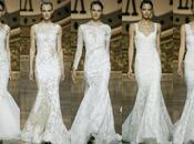 Pronovias cerró Barcelona Bridal Week Irina Shayk como protagonista desfile nueva colección para 2016