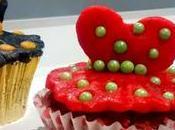 Buenísimas Velvet Cupcakes rellenas vestidas flamencas! Reto Facilísimo