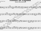 Himno Nacional España Partitura Violín Himnos Mundo