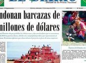 Hacia barcazas chinas otras despampanantes noticias