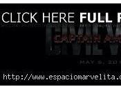 Calavera máscara rodaje Captain America: Civil