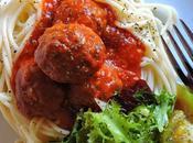 Espaguetis albóndigas carne ¿Quien viene cenar?