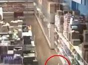 Captan video extraño fenómeno centro comercial