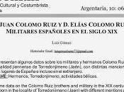 Militares españoles siglo