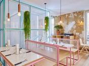 Ciudad playa, inspiración para diseñar esta hamburguesería París