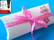 Caja para regalo papel corrugado