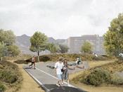 Reactivación solar abandonado para crear espacio público, verde deportivo