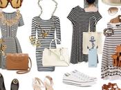 vestido marinero. estilos.