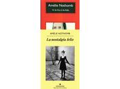 """ADÁN EVA"""" """"NOSTALGIA FELIZ"""" Amélie Nothomb"""