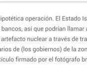 DAESH quiere obtener bomba nuclear