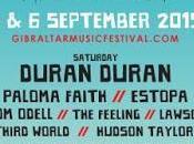 Kaiser Chiefs, Madness Paloma Faith suman Gibraltar Music Festival 2015