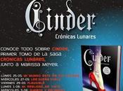 Blog tour Cinder