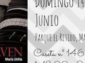 ¡María Utrilla estará Feria Libro Madrid!