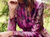 Alexa Chung belleza floral para portada Harper's Bazaar