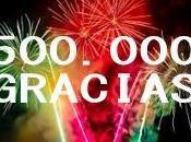 Geojuanjo llega medio millón visitas