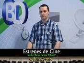 "Comarcal: Estrenes Cine, Oscar Vela ""Mastí"" 04/06/2015"