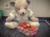Vuelvo cocinar. delicioso gazpacho fresas.