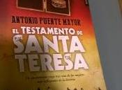 """testamento Santa Teresa"""" (Antonio Puente Mayor)"""