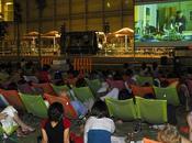 Cine aire libre l'illa diagonal