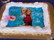 Tarta milhojas cumpleaños princesa