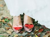 Lady Dragon, zapatos corazón