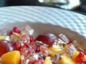 Ensalada Mango, Gelatina Moscatel #ponunaensalada