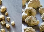 Sopa coliflor portobellos,quinoa roja, almendras caramelizadas mezcla semillas