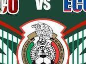 Donde vivo México Ecuador Copa América