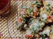 Mofo gasy sakay (buñuelos verduras salsa picante)