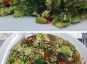 Tortilla verduras variadas