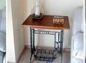 Convertir patas máquina coser antigua escritorio mesa multiusos