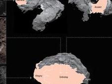 Rosetta detecta agua helada superficie cometa 67P/Churyumov-Gerasimenko