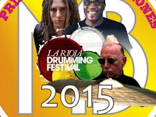 Drumming Fest Rioja 2015. Primeras confirmaciones