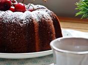 Bundt cake cerezas chocolateada