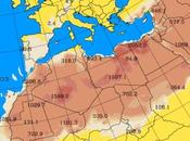 España: Intrusión polvo africano 27-junio-2015 (Pronóstico)