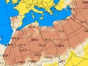 España: Intrusión polvo africano 30-junio-2015 (Pronóstico)