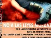 LEYES MORDAZA, represión movimiento social