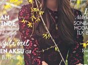 Lily Aldridge posa para Vogue Turquía