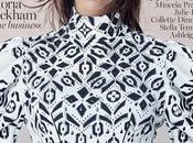 Victoria Beckham luce despeinada para portada Vogue Australia