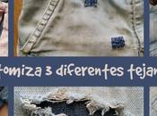 Reciclar customizar diferentes tejanos para verano
