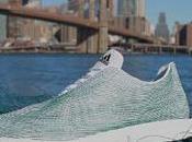 Zapatillas fabricadas 100% basura marina