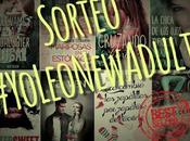 Sorteo nacional #YoLeoNewAdult todas novelas género escritas español