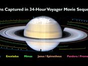aproximación Voyager Saturno: anillos