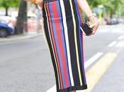 Combina falda rayas