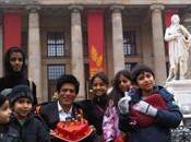 Shahrukh Khan celebra cumpleaños Europa