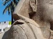 esfinges descubiertas luxor egipto