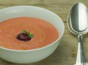 Receta gazpacho cerezas