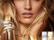 Karmen Pedaru belleza dorada para nueva campaña fragancia Michael Kors