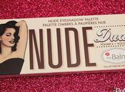 Paleta Nude Dude: paleta sexy Balm