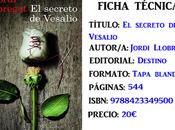 Reseña: secreto Vesalio, Jordi Llobregat